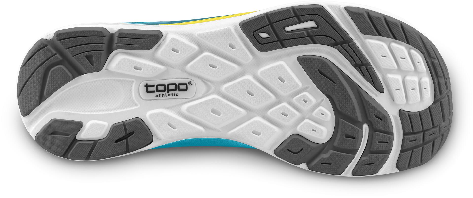 Topo Athletic Fli-Lyte 3 Scarpe Da Corsa Donna, aqua/yellow su Addnature 4V0b9